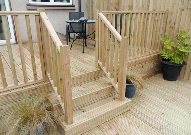 Decking fencing ewenny garden centre bridgend for Garden decking quotes uk