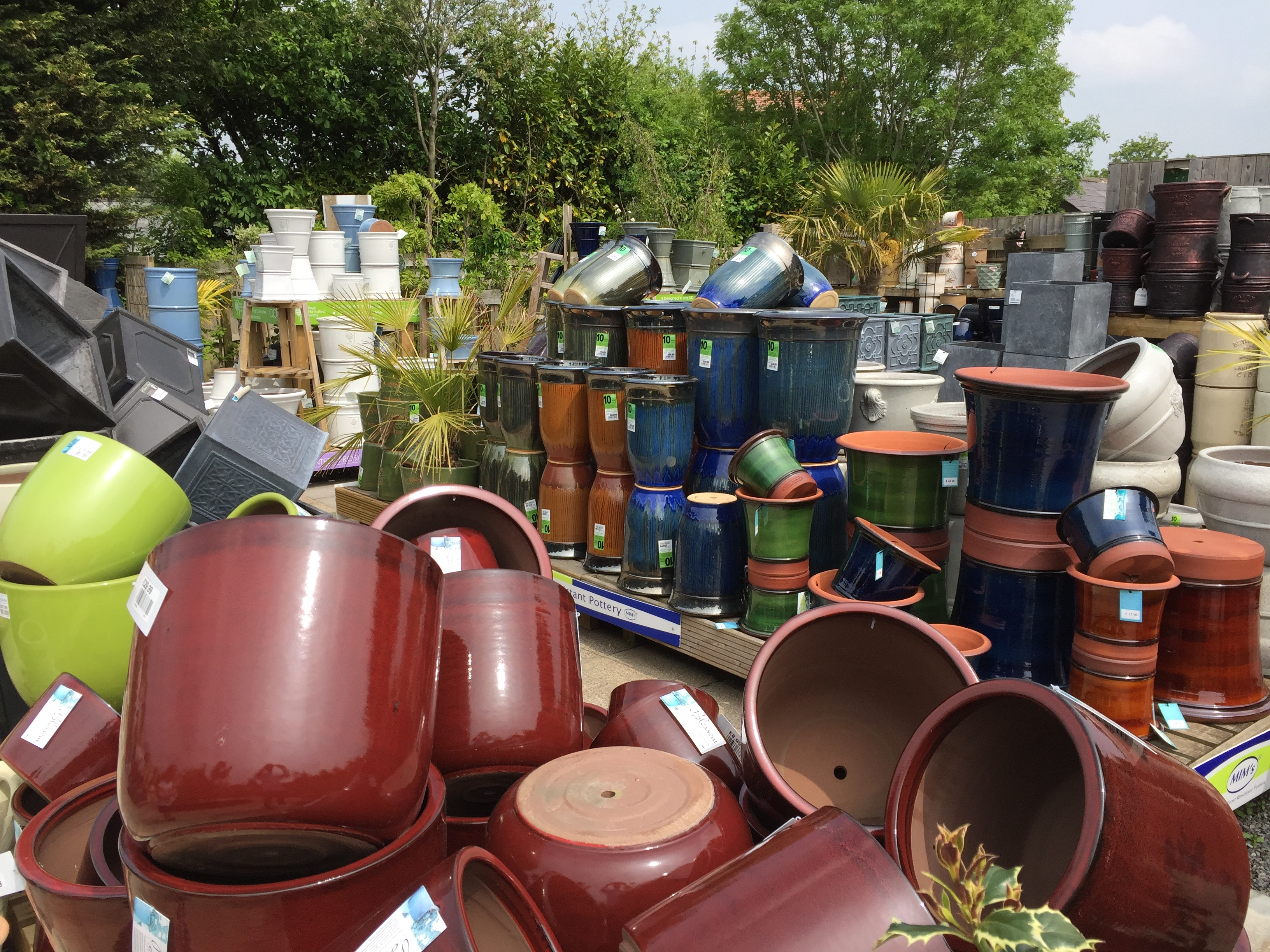 At Ewenny Garden Centre we have a huge range of garden pots  possibly the  largest in Bridgend  from modern to contemporary we have the pot to suit  all. Garden Pots   Ornaments   Ewenny Garden Centre