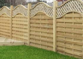Garden Decking and Fence